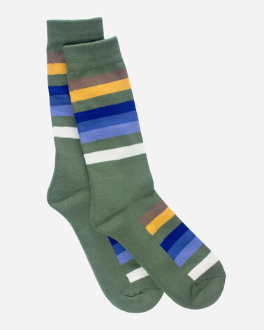 NATIONAL PARK STRIPE CREW SOCKS IN ROCKY MOUNTAIN