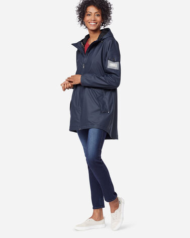 WOMEN'S CANNON BEACH JACKET, NAVY, large