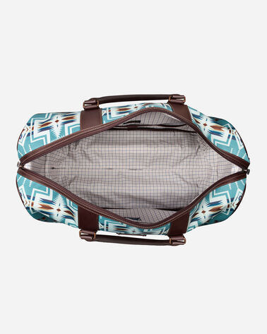 ALTERNATE VIEW OF HARDING ROLLING DUFFEL BAG IN AQUA