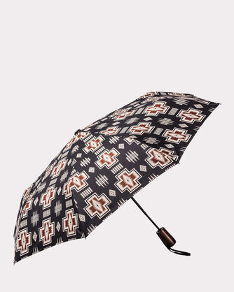 HARDING JACQUARD UMBRELLA, OXFORD, large