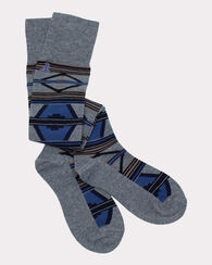 RIO CANYON OVER THE KNEE SOCKS, BLUE, large