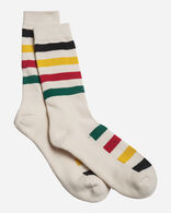 NATIONAL PARK STRIPE CREW SOCKS IN GLACIER PARK
