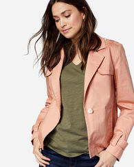 SLOAN COTTON TWILL JACKET, CAMEO ROSE, large