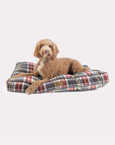 X-LARGE PLAID DOG BED