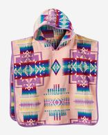 CHIEF JOSEPH HOODED KIDS' TOWEL IN PINK