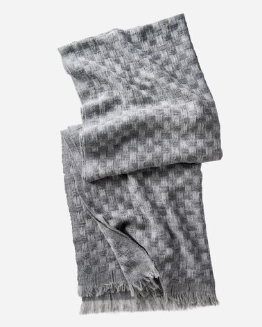 TEXTURED SCARF, GREY MIX, large