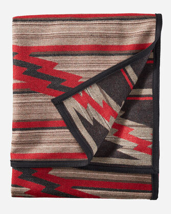ALTERNATE VIEW OF PRESERVATION SERIES: PS03 BLANKET IN RED MULTI