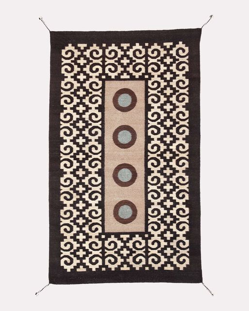 FOUR MIXTEC YEARS RUG, , large