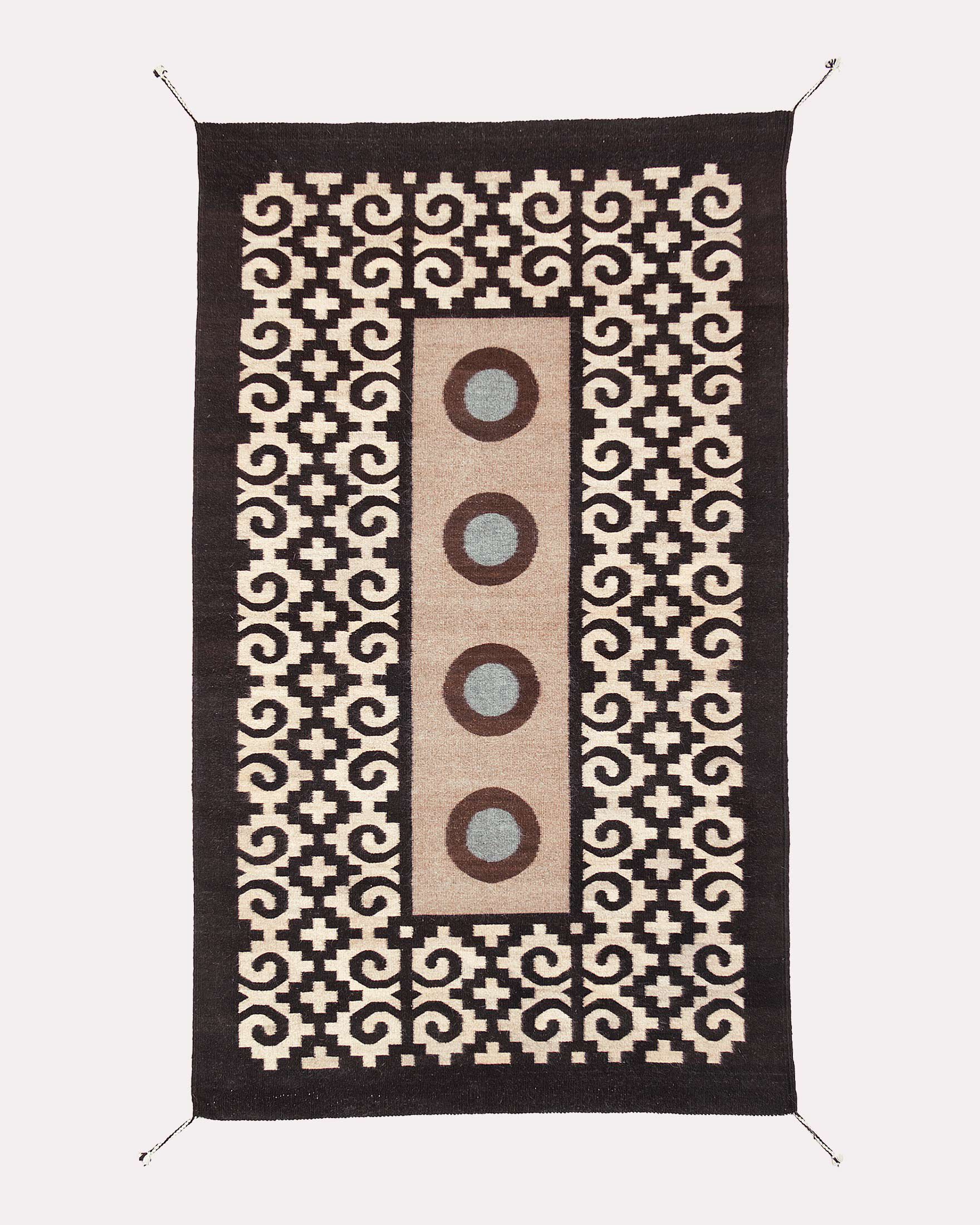 FOUR MIXTEC YEARS RUG ...
