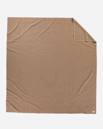 ADDITIONAL VIEW OF ECO-WISE WOOL SOLID BLANKET IN CAMEL