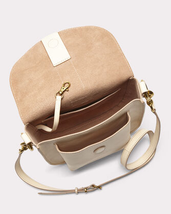 ILANA SADDLE BAG, TAUPE, large