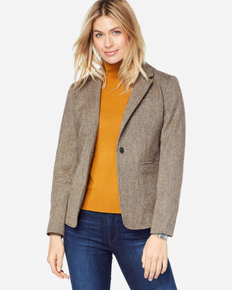 SHELBY DONEGAL WOOL BLAZER, , large
