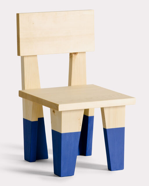 WEE CHAIR, BLUE, large