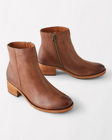 MAYTEN LEATHER BOOTIES