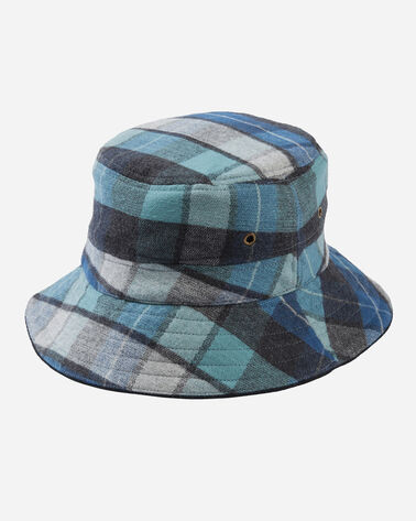 SURF BUCKET HAT, ORIGINAL SURF PLAID, large