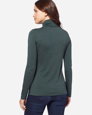 LONG-SLEEVE TURTLENECK JERSEY TEE, DARK SPRUCE, large