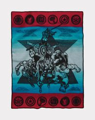 MARVEL THE AVENGERS MUCHACHO, RED/TURQUOISE, large