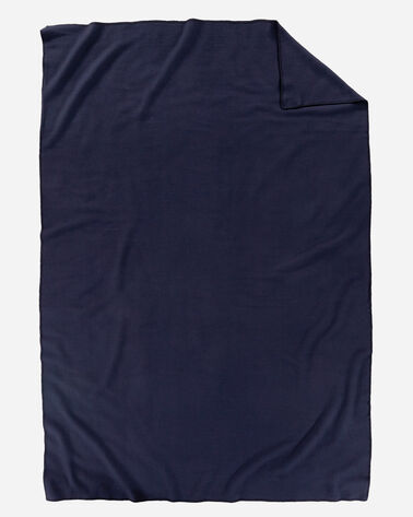ECO-WISE WOOL SOLID BLANKET, MIDNIGHT NAVY, large