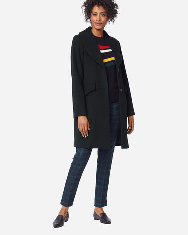 WOMEN'S WALKER COAT IN BLACK