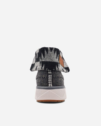 ADDITIONAL VIEW OF WOMEN'S ROCKY FLATS HIGH TOP SNEAKERS IN GREY HEATHER