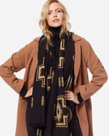 WOMEN'S TWO-BUTTON WALKER COAT IN CAMEL