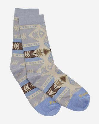 SILVER BARK CREW SOCKS IN GREY