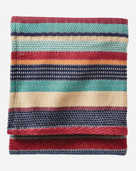 CHIMAYO STRIPE COTTON THROW