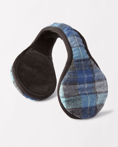 WRAP AROUND EAR MUFF, ORIGINAL SURF PLAID, large