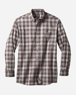 MEN'S SOMERSET BUTTON-DOWN SHIRT IN GREY/BROWN/NAVY PLAID