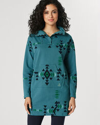 LOUNGE DRESS, TURQUOISE, large