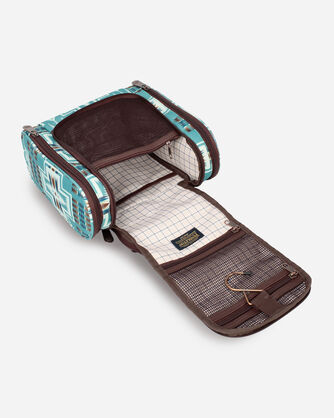 ALTERNATE VIEW OF HARDING DELUXE TOILETRY BAG IN AQUA