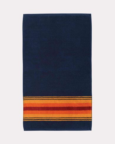 GRAND CANYON NATIONAL PARK HAND TOWEL, NAVY, large