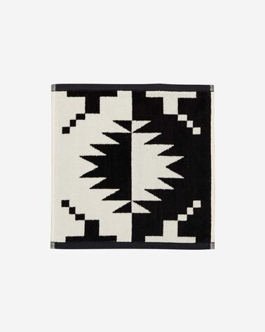 SPIDER ROCK WASHCLOTH IN BLACK/WHITE
