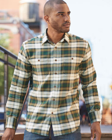 HAWTHORNE FLANNEL SHIRT, CAMPBELL ANCIENT TARTAN, large