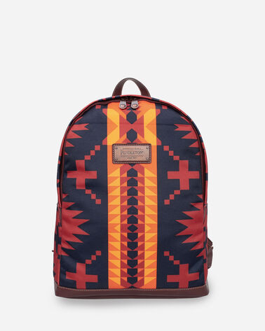 SPIDER ROCK BACKPACK IN RUST/NAVY