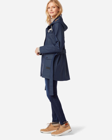 ADDITIONAL VIEW OF WOMEN'S BROOKINGS RAIN JACKET IN NAVY