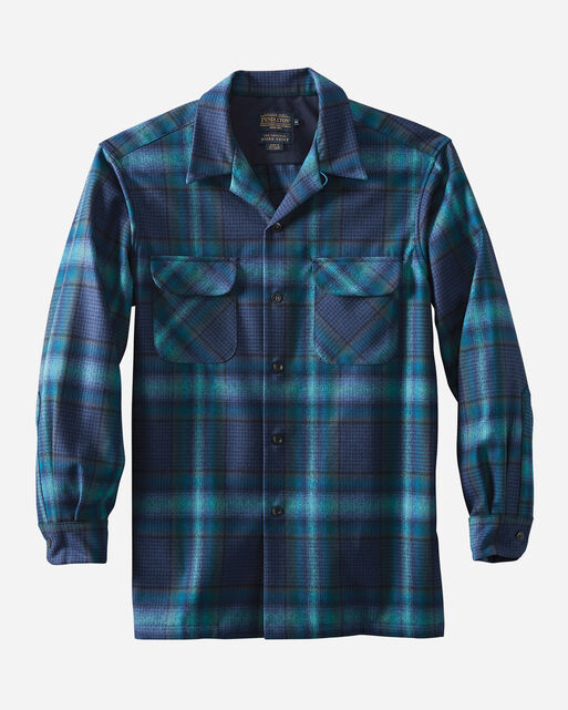 BOARD SHIRT, BLUE/TEAL OMBRE, large