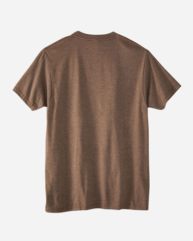ALTERNATE VIEW OF MEN'S GRAND CANYON PARK HERITAGE TEE IN BROWN HEATHER