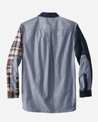 WOOL/DENIM MIX-IT-UP SHIRT, SHADES OF BLUE, large