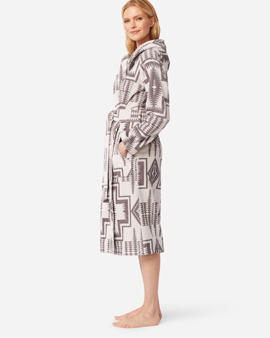 WOMEN'S JACQUARD TERRY ROBE in