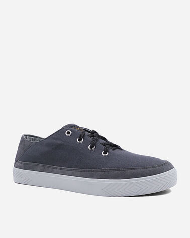 ALTERNATE VIEW OF MEN'S PINOLE BLUFF CANVAS SNEAKERS IN STEEL GREY