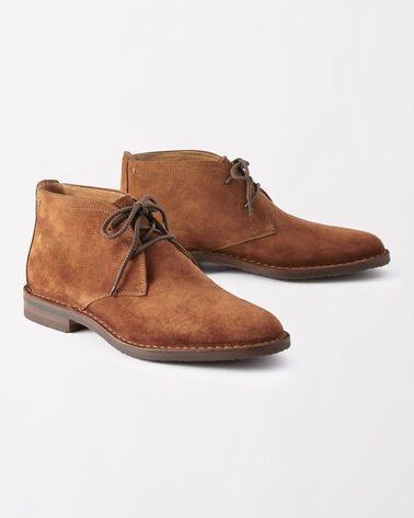 BRADY SUEDE CHUKKA BOOTS, TAN, large