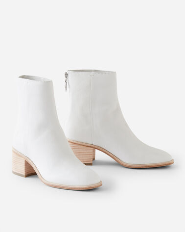 EMILIA SHORT BOOTS, WHITE, large