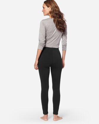 KNIT LEGGINGS, BLACK, large