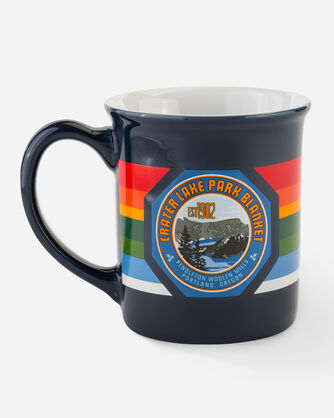 NATIONAL PARK COFFEE MUG IN CRATER LAKE (NAVY)