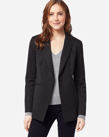 WOMEN'S SEASONLESS WOOL BLAZER IN BLACK