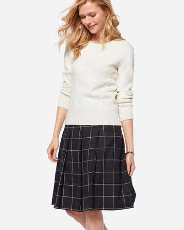 PAULINE PLEAT SKIRT