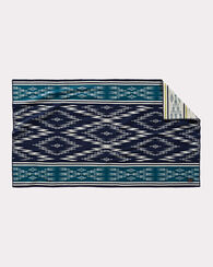 MENDOZA TRAIL SADDLE BLANKET, INDIGO, large