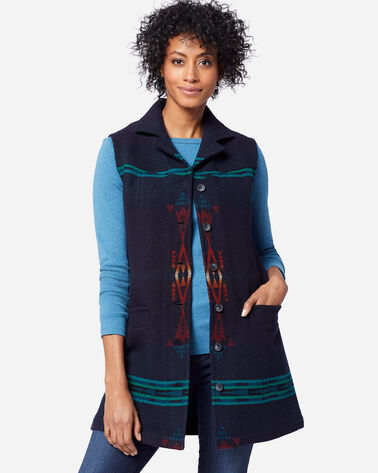 WOMEN'S JUNEAU VEST IN THUNDERBIRD NAVY