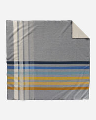 OSLO EVENING BLANKET, GREY MULTI PLAID, large